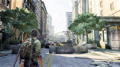 "TheLastofUs0801 20 years after the outbreak, Pittsburgh is nearly deserted in Sony's ""The Last of Us: Remastered."""