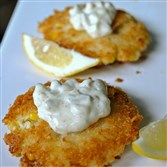 Cod and Corn Cakes