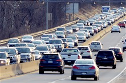 The Mid-Atlantic Region is expected to have 4.94 million people hit the highways.