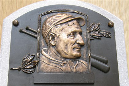 Honus0803.jpg Honus Wagner's plaque at the National Baseball Hall of Fame and Museum.
