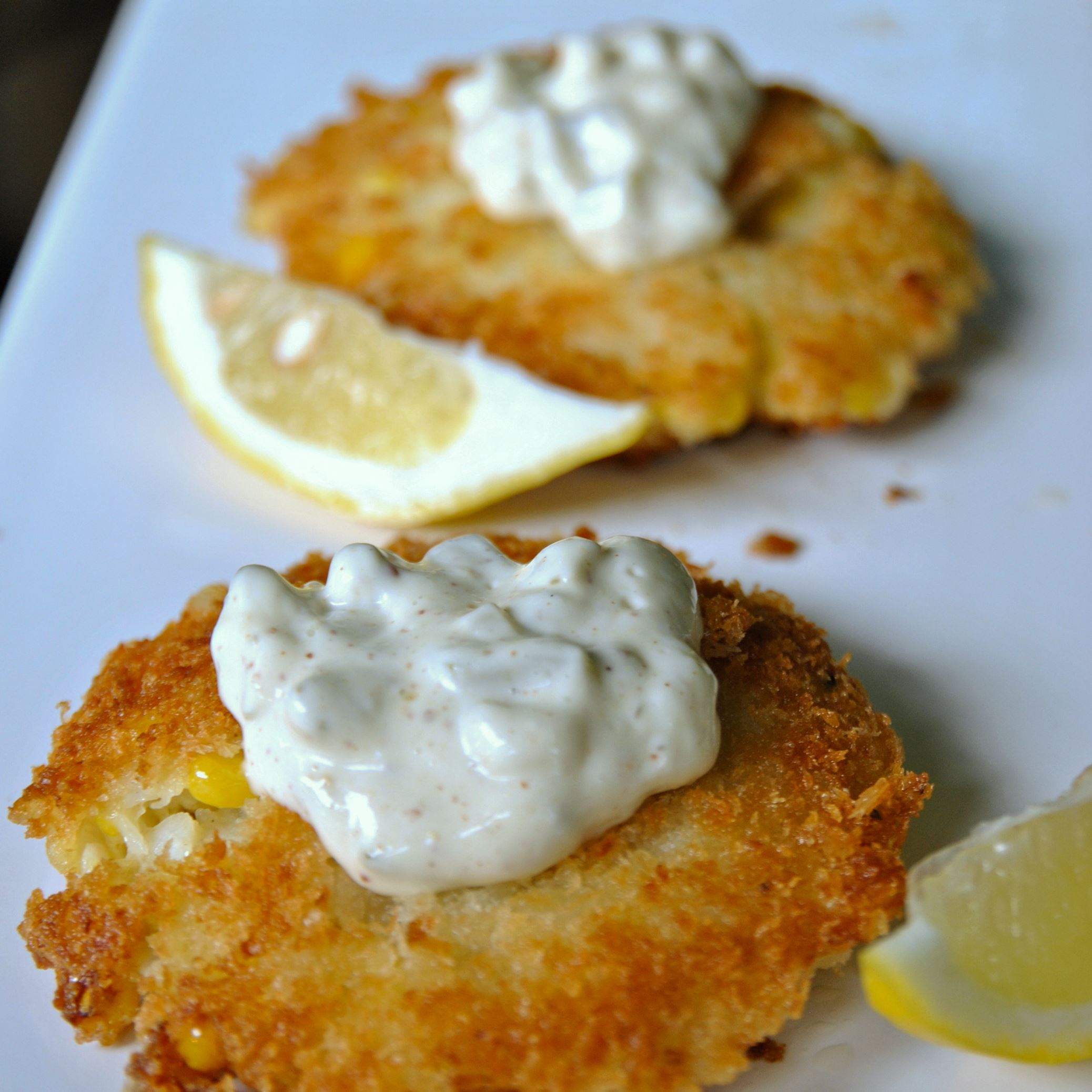 with dill tartar sauce cod fish cakes tea smoked fish tartar sauce