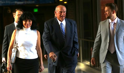 "Former Minnesota Gov. Jesse Ventura Former Minnesota Gov. Jesse Ventura, center, arrives at court with his wife, Terry, and others for his defamation lawsuit against ""American Sniper"" author Chris Kyle in St. Paul, Minn."