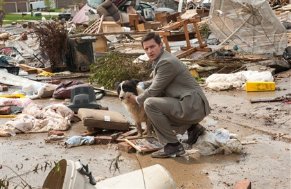 "IntotheStorm3-2 Richard Armitage as Gary in ""Into the Storm."""