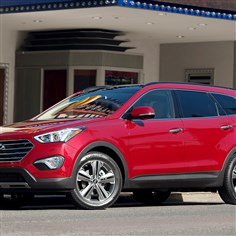 2014 Hyundai Santa Fe Ext The Hyundai Santa Fe got a new look for 2013 that carries over for this model year.