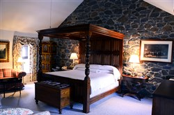 One of the historic rooms at The Inn at Montchanin Village & Spa in Delaware.