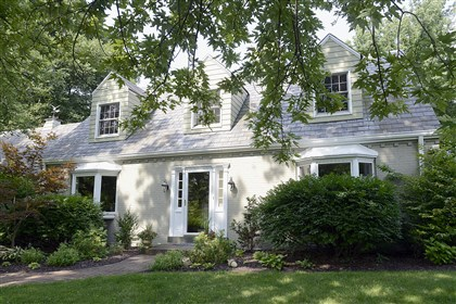 four-bedroom Cape Cod style home This four-bedroom Cape Cod style home in Rosslyn Farms is on the market for $559,900.