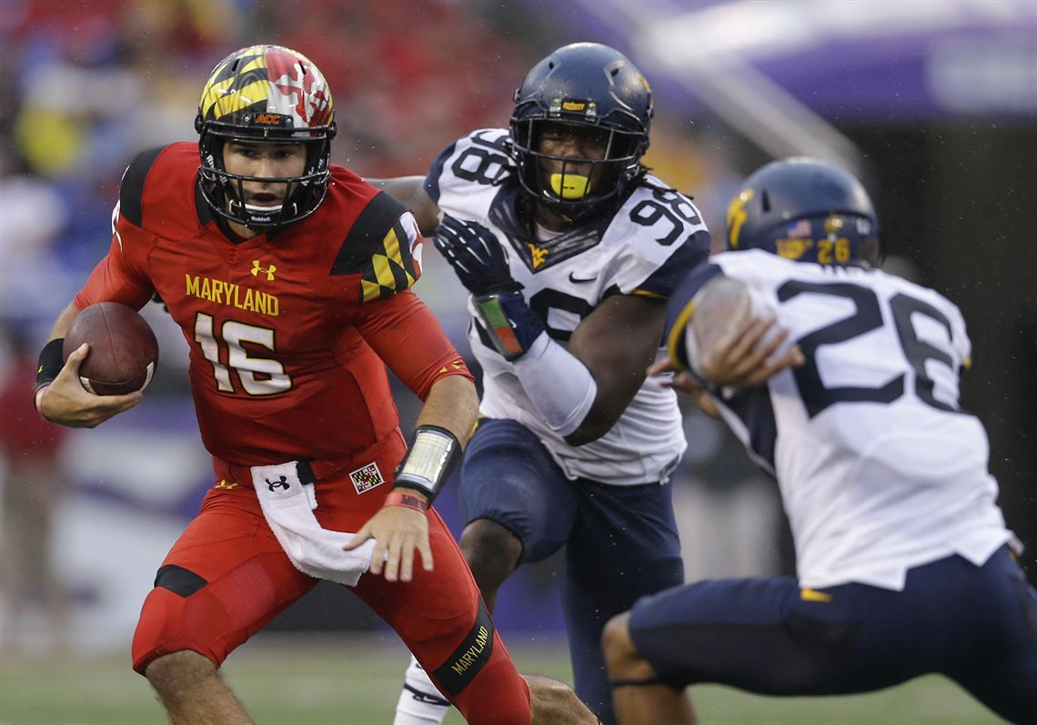 purchase cheap cf666 4172b Maryland quarterback C.J. Brown will face his brother, Jordan, in Week 1  Aug.