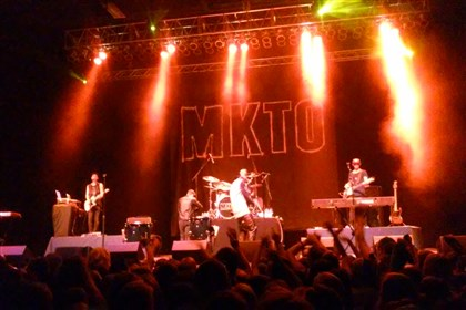MKTO-2 American duo MKTO perform hit songs at Stage AE.