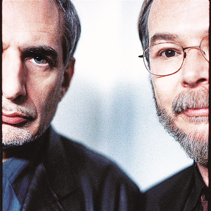 "SteelyDan_1 Donald Fagen, left, and Walter Becker released their first Steely Dan album, ""Can't Buy a Thrill,"" in 1972."
