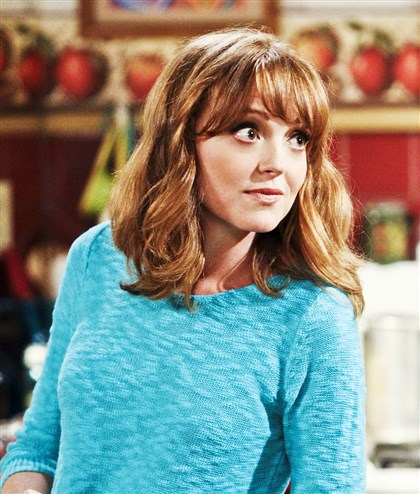"tvq Jayma Mays stars as Debbie in ""The Millers,"" which CBS has renewed for the 2014-15 TV season."