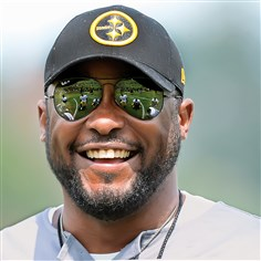 Mike Tomlin  Steelers coach Mike Tomlin is one of several National Football League coaches who never played in the league.