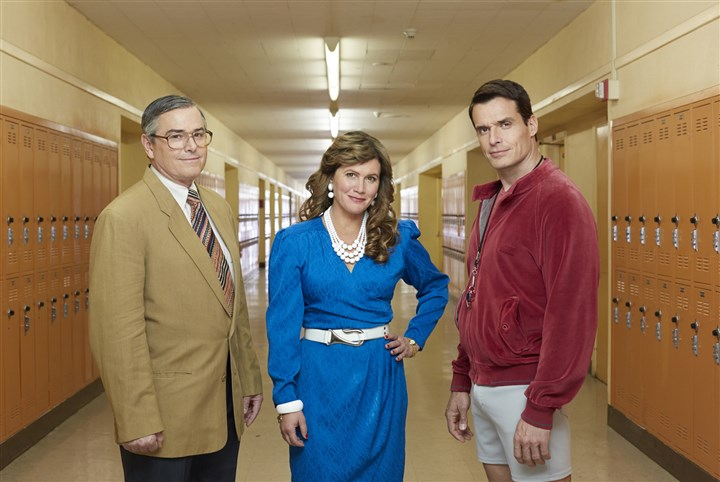 "heartbreakers0813 Among the cast of ""Heartbreakers"" on Investigation Discovery are Christopher Knight, left, Tracey Gold and Anthony Sabato Jr."