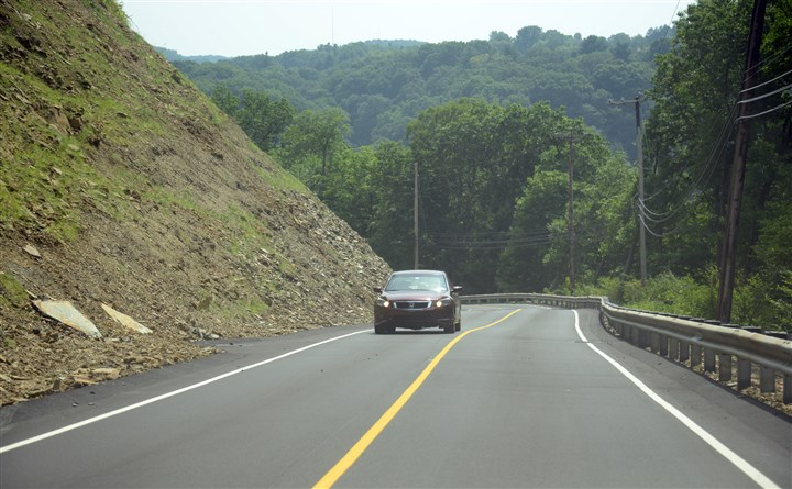 Fall Run Road in Shaler Fall Run Road in Shaler has reopened after years of lane restrictions and complete closures.