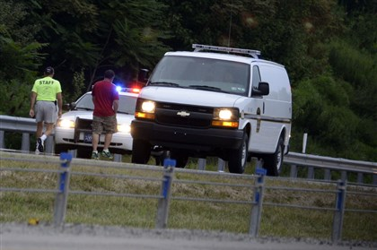20140811dsParkwayNFatalLocal02.jpg The investigation continues along the northbound I-279 Parkway North after a woman died early this morning. The Parkway North reopened around 7:15 a.m.