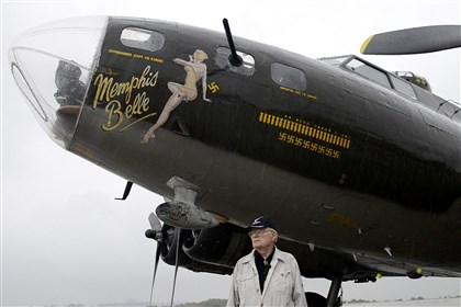 "20140811rldB1701 The ""Memphis Belle"" will be open to the public at the county airport this Saturday and Sunday."