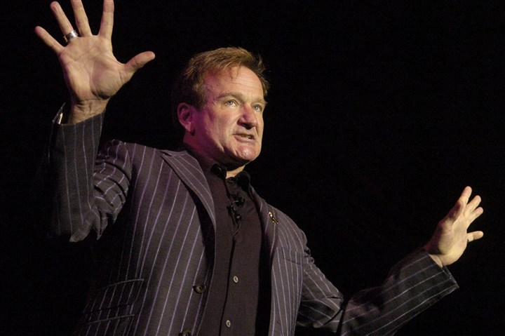 77300k7x-3 Actor/comedian Robin Williams