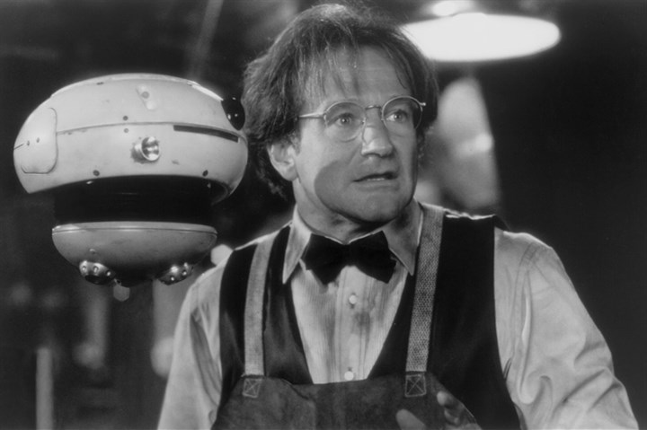 "5B101KLR Mr. Williams in ""Flubber"" 1997."