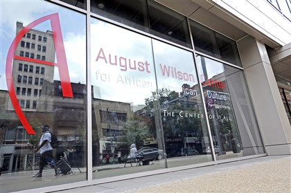 20140812CMAugustWilsonLocal001 The August Wilson Center on Liberty Avenue, Downtown.