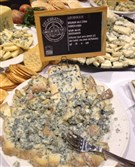 Birchrun Blue from Birchrun Hill Farms in Chester Springs, Pa., at the Festival of Cheese.
