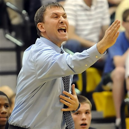 93k00km4.jpg Adam Kaufman won two WPIAL Class AAA boys basketball titles at his alma mater, Montour, but will be the new coach at Moon this season.