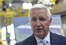 Gov. Tom Corbett's public schedule Monday will feature appearances around but not in the Labor Day Parade in Downtown Pittsburgh, after a dispute between two unions that had invited him and parade organizers, who balked at what they characterize as his anti-labor record in Harrisburg.
