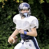 Bishop Canevin receiver Sean Fitzgerald caught 26 passes for 339 yards last season.
