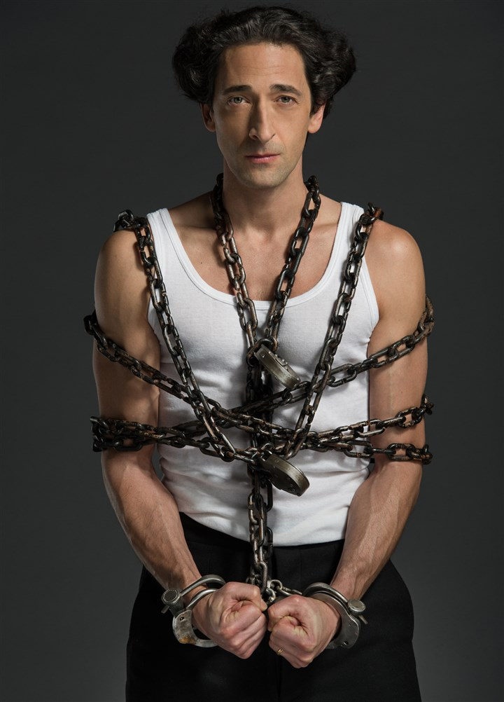 20140814hdHoudiniMag (2)-1 Adrien Brody stars as Harry Houdini in History's two-part miniseries.