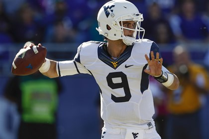Clint Trickett Clint Trickett - No doubt as to starting QB for Mountaineers in 2014.