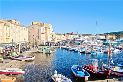 20140815psPortTropezMag The old fishing port of St. Tropez.
