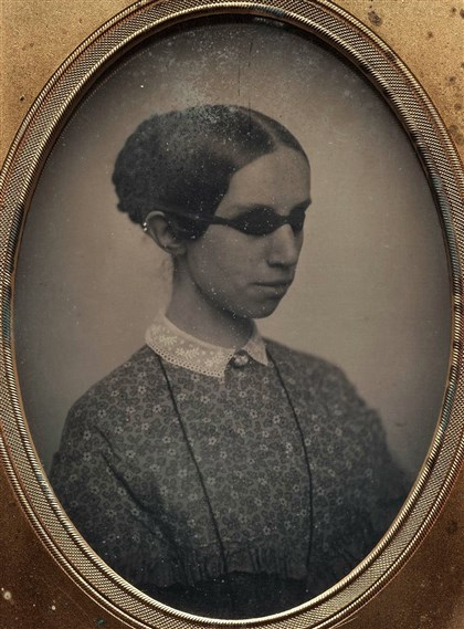 Laura Bridgman circa 1855 Laura Bridgman circa 1855 in a daguerreotype by Southworth & Hawes