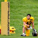 """It's hard to talk years when you live day to day,"" Troy Polamalu said of potential retirement plans."
