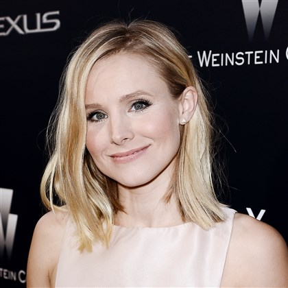 "2014hoBell01 Actress Kristen Bell attends the world premiere of ""Lexus Short Films"" at Regal LA LIVE on July 30."