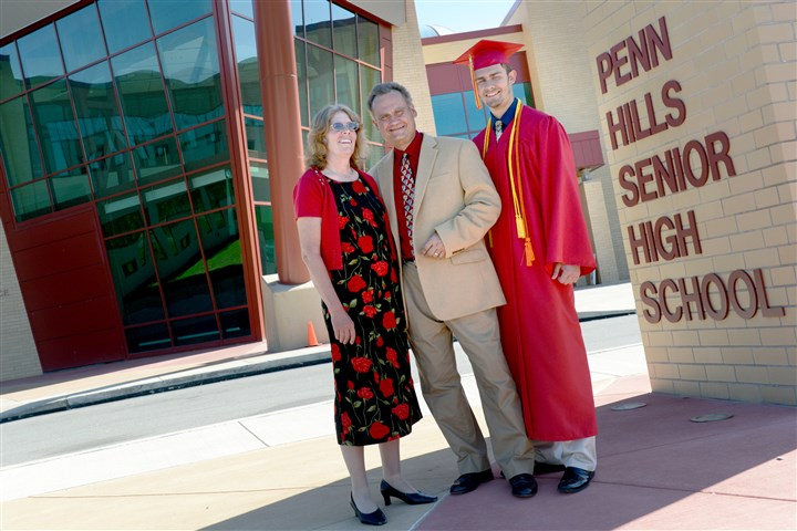 BackToSchool Kathy and David Wolf with their son, Nicholas, before the Class of 2014 graduation ceremonies at Penn Hills High School. When Kathy and David Wolf graduated from Penn Hills High in the 1970s, there were about 1,200 students in each of their graduating classes. But in June, there were just 298 students. With a few exceptions, school districts throughout Western Pennsylvania are educating fewer students than they did even a decade ago.