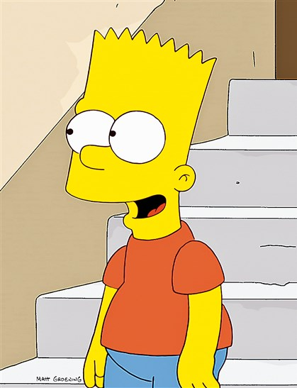 Simpsons Bart Simpson.