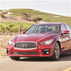 2014infinitiExt The 2014 Infiniti Q50 is an all-new luxury sport sedan from Nissan's luxury auto division.