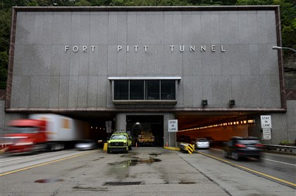 Fort Pitt Tunnel exterior Labor Day is just like any other day for the roughly 40 workers who keep things running smoothly for the Fort Pitt, Squirrel Hill and Liberty tunnels, along with several bridges and other state-owned tunnels in Pittsburgh.