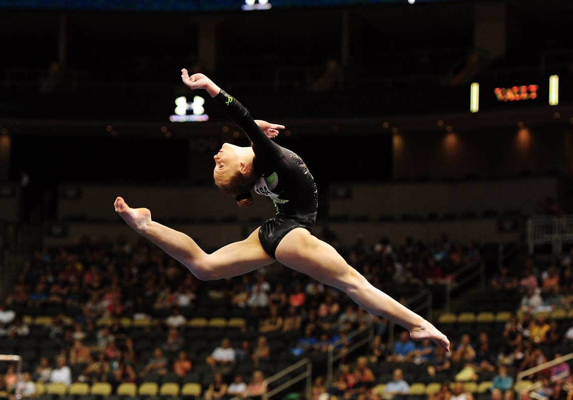 p u0026g gymnastics championships underdogs lead junior women