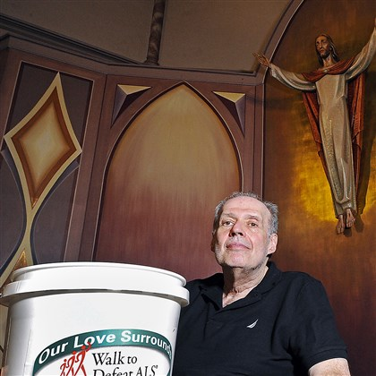 Rev. Dennis Colamarino The Rev. Dennis Colamarino, pastor at Christ Light of the World Parish in Duquesne, who is struggling with ALS, will take the ice bucket challenge Saturday with Pittsburgh Bishop David Zubik to raise money for ALS research.
