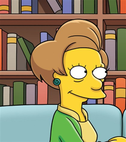 "20140821hospringfield0901AAmag The opening credits of ""Four Regrettings and a Funeral"" acknowledged the passing of Marcia Wallace, who voiced Mrs. Krabappel."