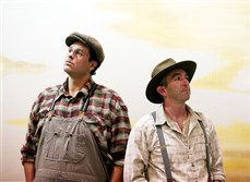"Leandro Cano and Jarrod DiGiorgi star in  The REP's production, ""Of Mice and Men,"" which runs Sept. 5-21 at Pittsburgh Playhouse."