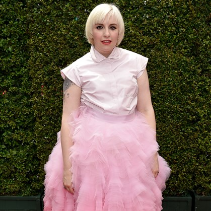 dunham Lena Dunham arrives at the 66th Primetime Emmy Awards.