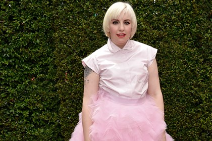 lena dunham Lena Dunham arrives at the 66th Primetime Emmy Awards on Monday.
