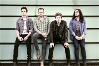 Kings of Leon:  From left, Jared Followill, Caleb Followill, Matthew Followill and Nathan Followill.