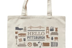 West Elm will give this special tote bag away to the first 300 customers who spend $50 or more in their new location at Bakery Square on Thursday, Sept. 4. Doors open at 10 a.m.