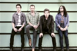 The band Kings of Leon -- Jared Followill, left, Caleb Followill, Matthew Followill and Nathan Followill.