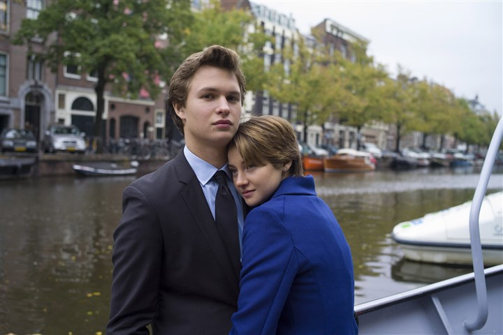 "summermovies12-7 In ""The Fault in Our Stars,"" Hazel (Shailene Woodley) and Gus (Ansel Elgort) take in the sights during an unforgettable trip to Amsterdam."
