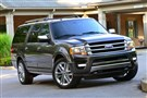 The new 2015 Ford Expedition is the most powerful, fuel-efficient Expedition yet, with seating for eight and segment leading towing capacity. With an available radar-based Blind Spot Information System, an available computer controlled suspension and EcoBoost power, the 2015 Expedition will be for sale in North America in the fall of 2014. Photo by: Sam VarnHagen/Ford Motor Co.