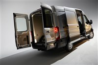 2014 Ford Transit: Available in three roof heights, two wheelbase lengths, and regular and extended-length bodystyles. (01/22/2013)