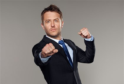 Hardwick Chris Hardwick, aka The Nerdist, will be among the comedians performing at the Oddball Comedy & Curiosity Festival Aug. 30 at First Niagara Pavilion.
