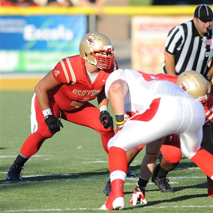 20140822hdZimmerZoneSports.jpg Penn-Trafford graduate Tyler Zimmer, a returning starter at linebacker, figures to play a key role on defense if Seton Hill is to improve on its 1-10 record from its inaugural season in the PSAC West.